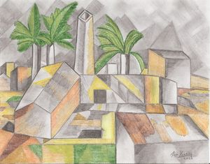 The Factory (After Picasso)