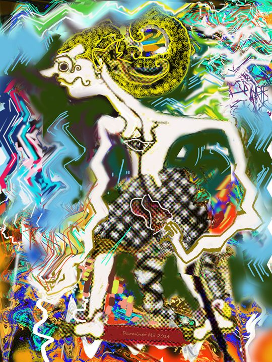 Java Puppet 1 - Darminto Art Gallery
