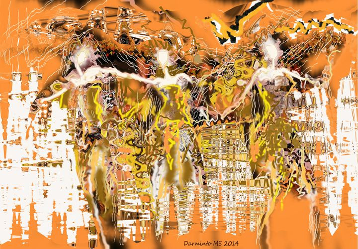 East and West Dance - Darminto Art Gallery
