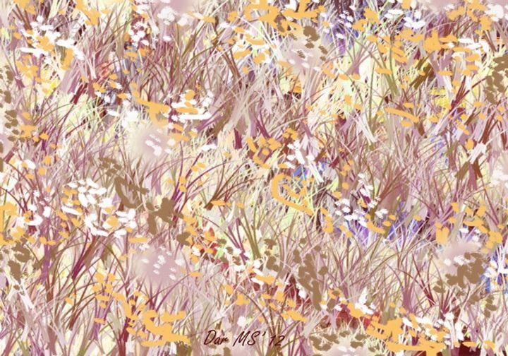 Flowers Park 1 - Darminto Art Gallery