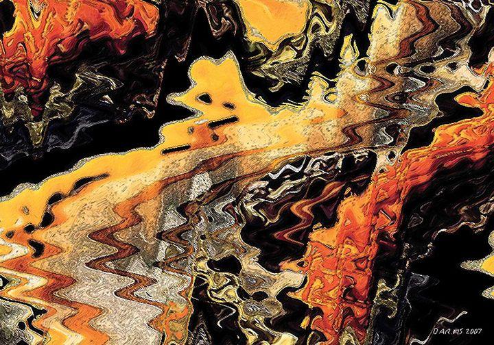 Batik Motive Abstraction - Darminto Art Gallery
