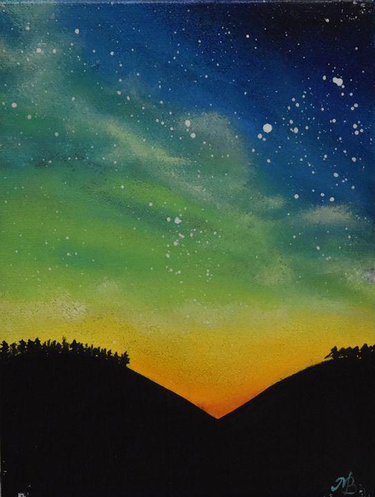 Night Sky - M.Bella Tsang