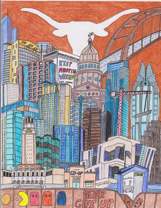 THE AUSTIN, TEXAS - Timothy McVain's ART