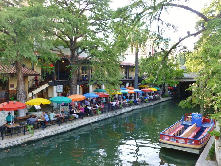 THE RIVERWALK - Timothy McVain's ART