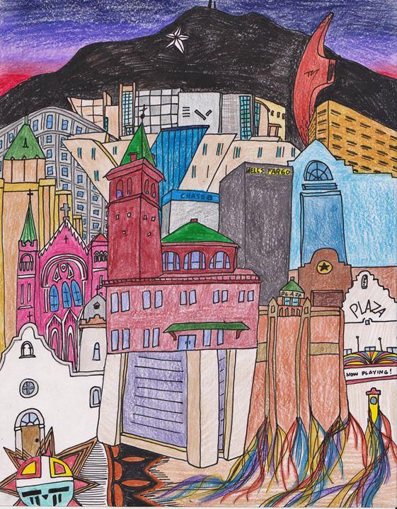EL PASO, TEXAS - Timothy McVain's ART