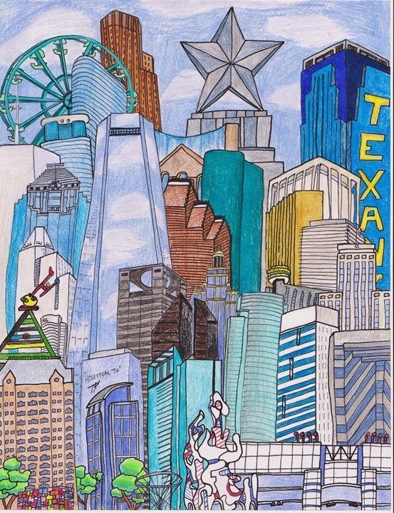 HOUSTON, TEXAS - Timothy McVain's ART