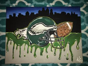 Philly Eagles Bleed Green Painting