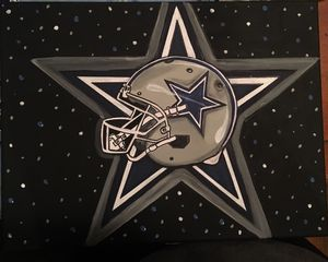 NFL Cowboys Painting
