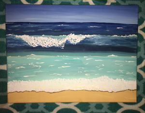 Beach Waves Painting