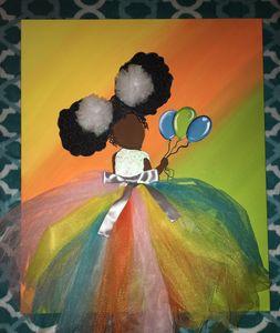 Birthday Girls Custom Painting