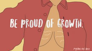 Be Proud of Growth