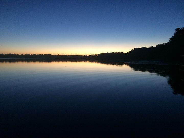 Ripples at Sunset - John McAfee