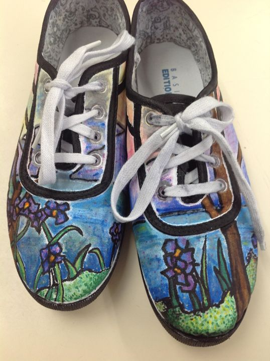Louis Tiffany Art Shoes - Mik's Creations