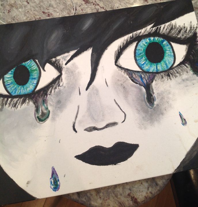 Glass Stained Tears - Mik's Creations