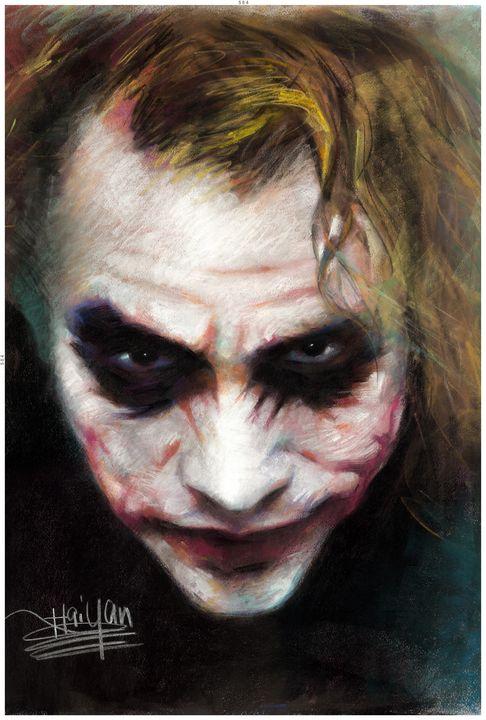Joker Portrait by Haiyan - pop picture