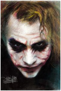Joker Portrait by Haiyan