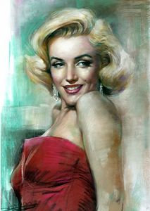 Marilyn Monroe Portrait by Haiyan