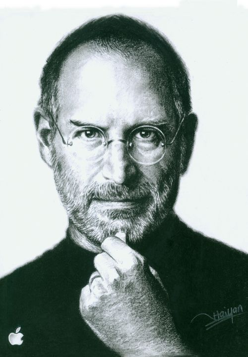 Steve Jobs artwork by Haiyan Artist - pop picture