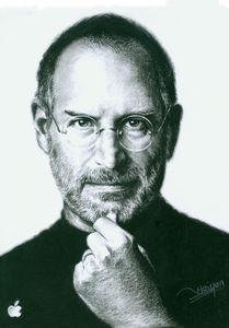 Steve Jobs artwork by Haiyan Artist