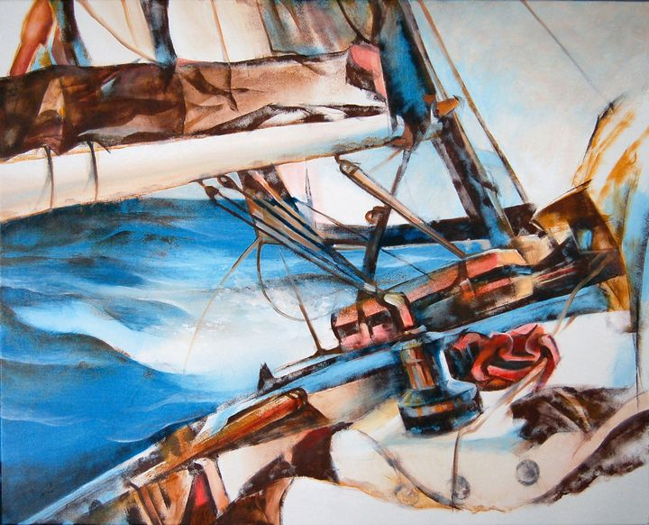 AMONG THE WAVES - Anatoly Korobeynikov