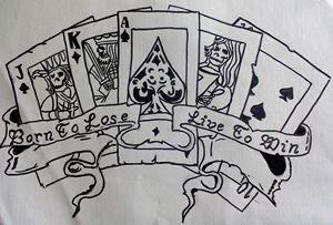 Gamblers cards