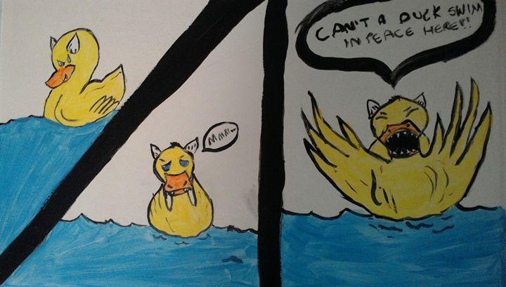 huffy devil duck - Ruby Cragg