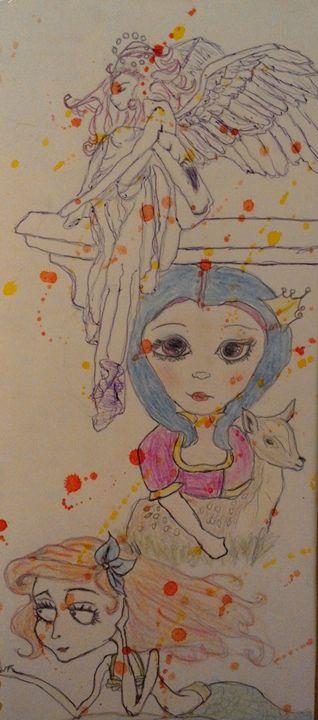 splatter - Ruby Cragg