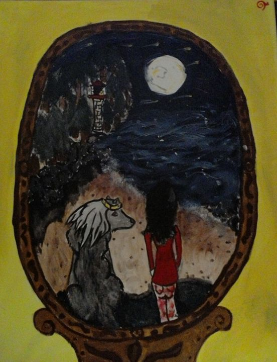 Wolf mirror - Ruby Cragg
