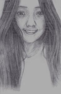 Vision of chinese girl