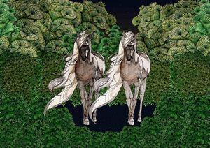 Couple horse