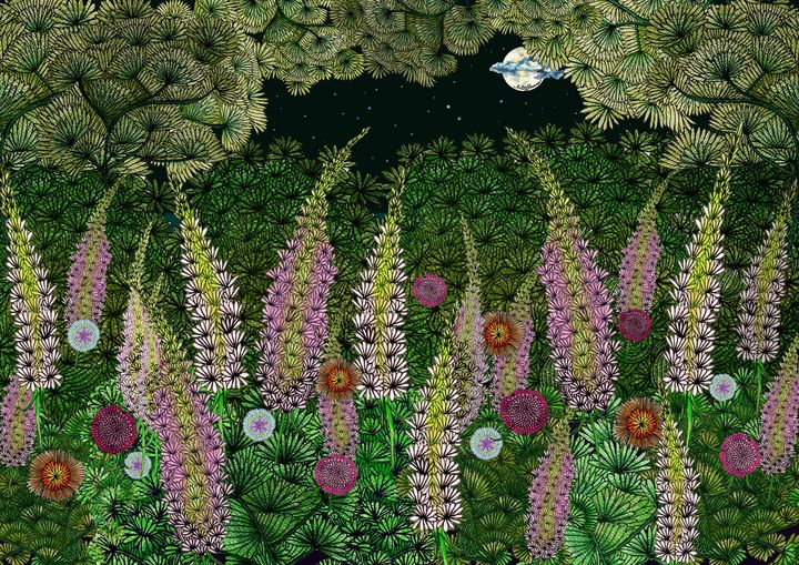 Mom's garden - Malitaroses