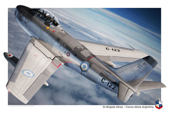 F-86F Argentina - Oxygino