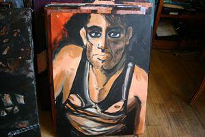 acrlyic on canvas