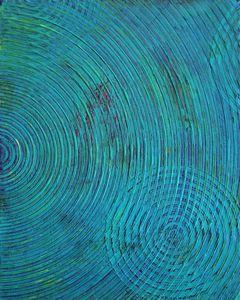 Turquoise Raindrops