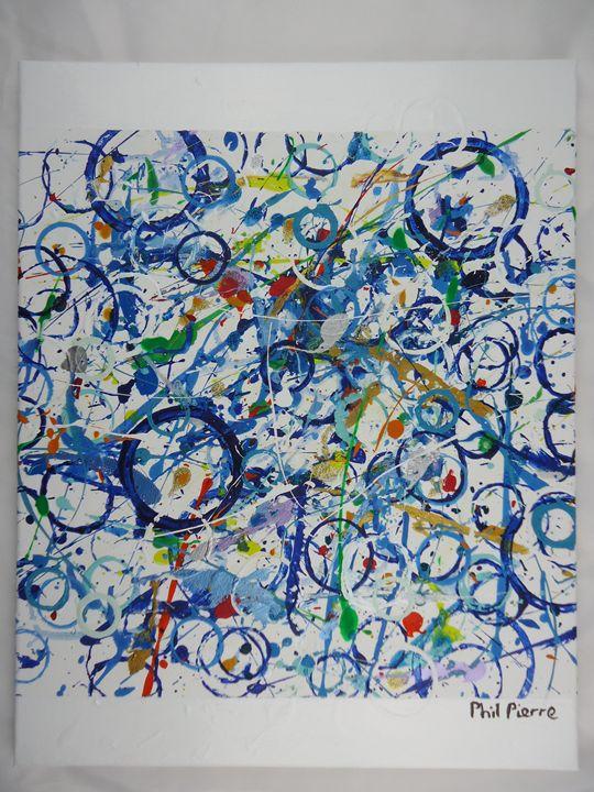Blue Bubbles 035 - Phil Pierre