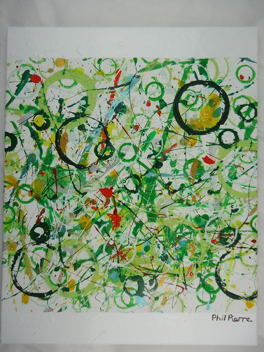 Green Bubbles 022 - Phil Pierre