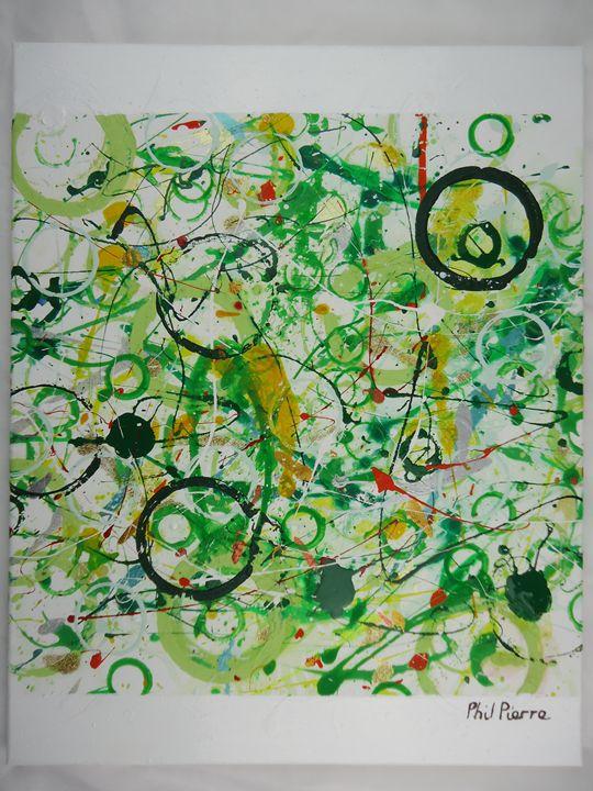 Green Bubbles 023 - Phil Pierre
