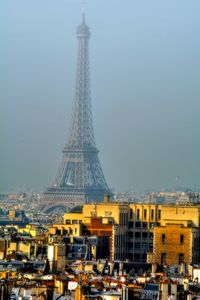 Eiffel tower from Notre Dame