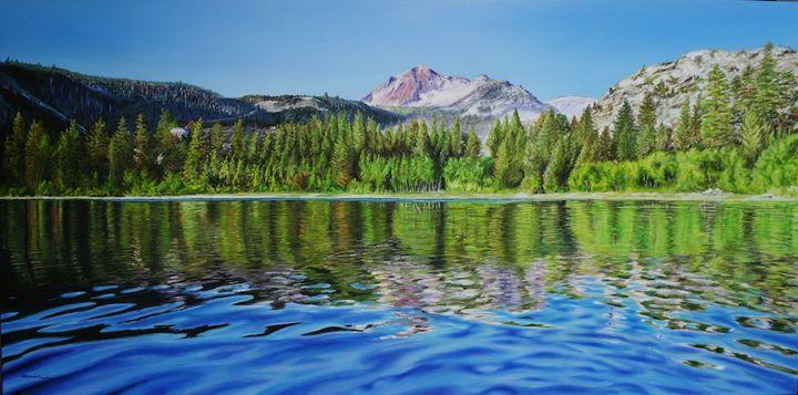 ''Morning On June Lake'' - hunnelart