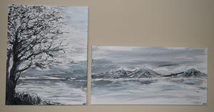 Gloomy Winter Scene
