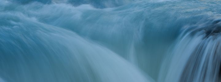 Blue Flow - Brent L PhotoArt