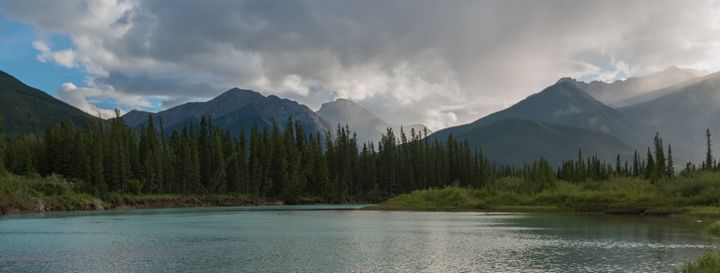 Lake and Mountains - Brent L PhotoArt