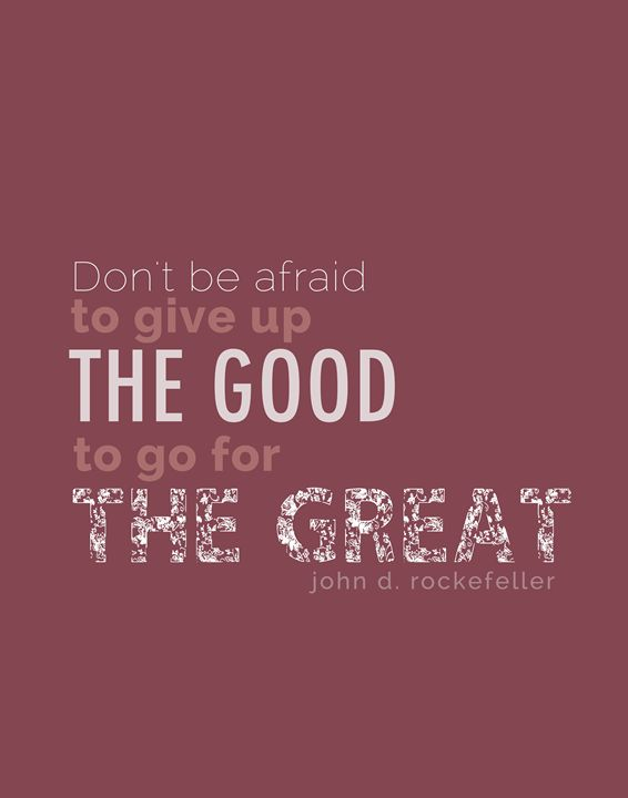 John Rockefeller Don't be afraid - Wall Vibes
