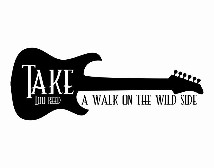 Lou Reed Take a walk - Wall Vibes