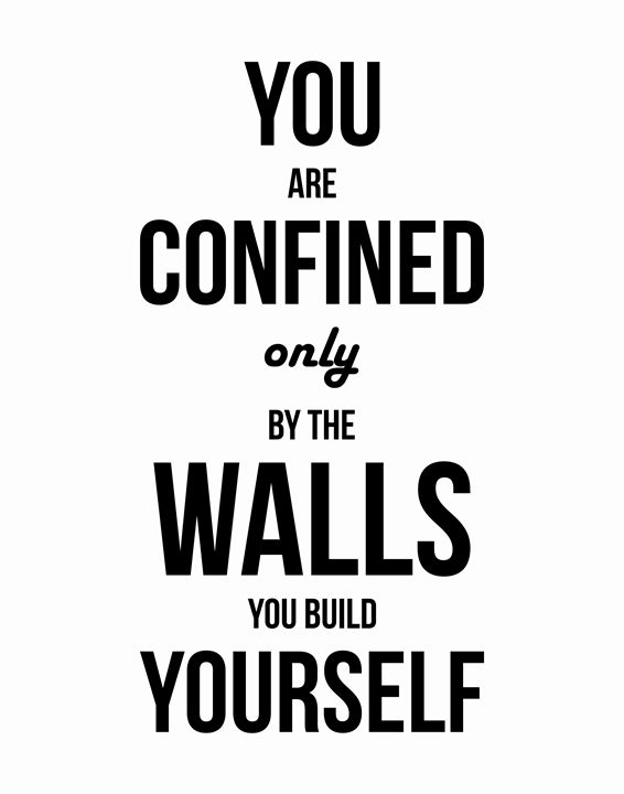 You are confined - Wall Vibes
