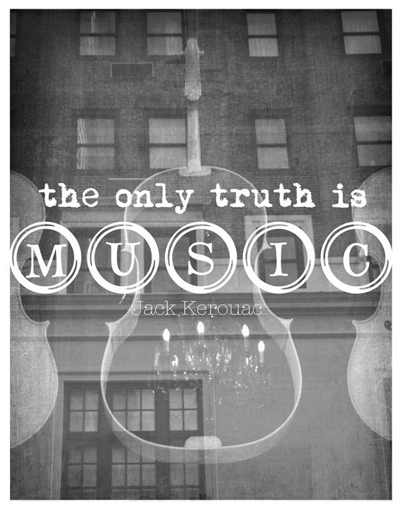 Jack Kerouac The only truth - Wall Vibes