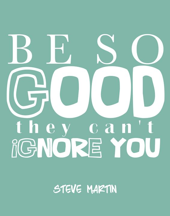 Steve Martin Be so good - Wall Vibes