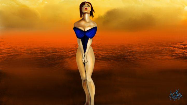beach pose - James DaSilva