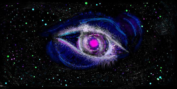 Gods Eye nebula digital painting - James DaSilva