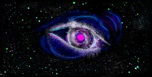 Gods Eye nebula digital painting